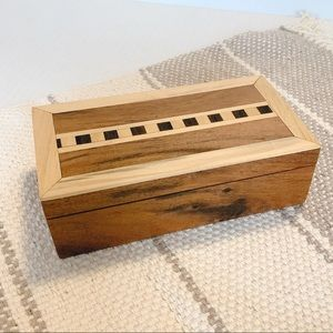 Other - Handmade Wooden Jewellery Box Container